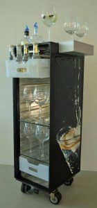 8r huitre gin tonic trolley bornem