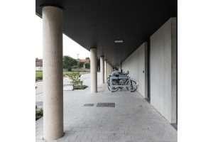 architect, bornem, studio klein brabant, vivec, den draver, zwijndrecht, sporthal, turnhal