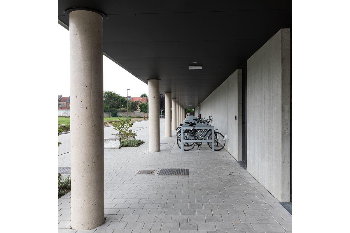 Zwijndrecht Den Draver  fietsenstalling