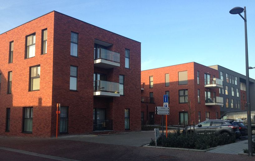 assistentiewoningen Ruisbroek-pleingevel