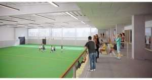 sportinfrastructuur, sporthal, Laarne, architect, bornem