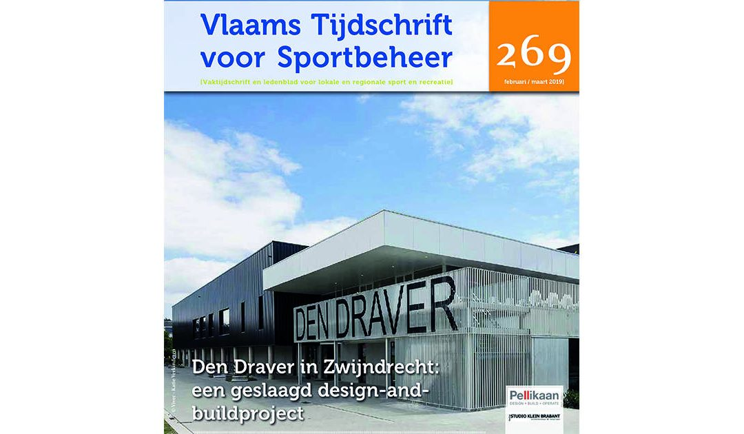 In de pers: Cover artikel over Sportcomplex Den Draver
