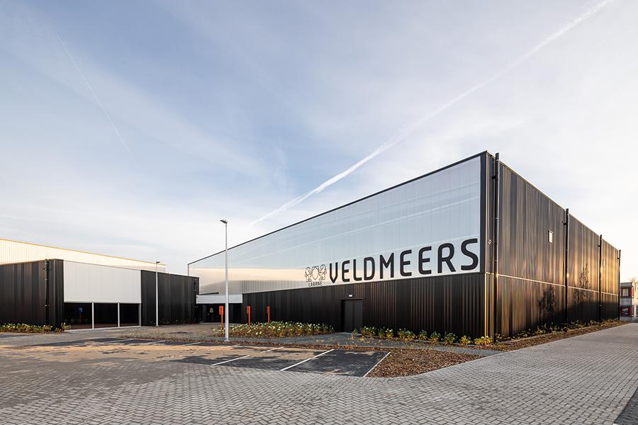 Sporthal Veldmeers mooi in beeld gebracht.