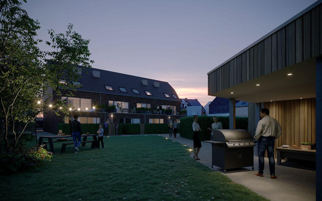 Co-garden project zet de buitenruimtes in de kijker